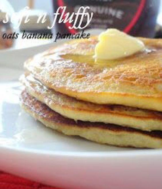 X Oats Banana Pancakes - Smackchow.com