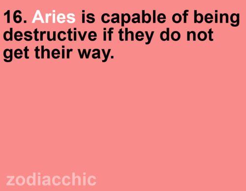Aries, c'est moi