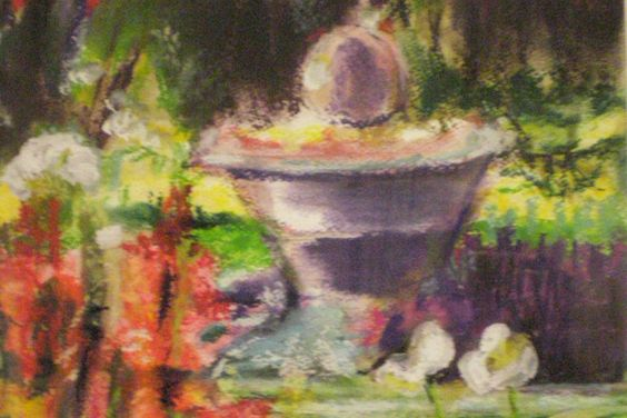 Jo Lee Tucker paints in an impressionist style -- you can find her work on the Clayton Visual Arts website.