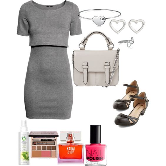 i heart it by adreyn15 on Polyvore featuring polyvore fashion style H&M Topshop MARC BY MARC JACOBS Bling Jewelry Accessorize Urban Decay Herbal Essences