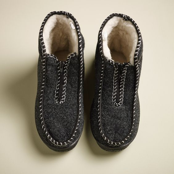 100% Real Sheepskin handmade slippers. with rubber sole.