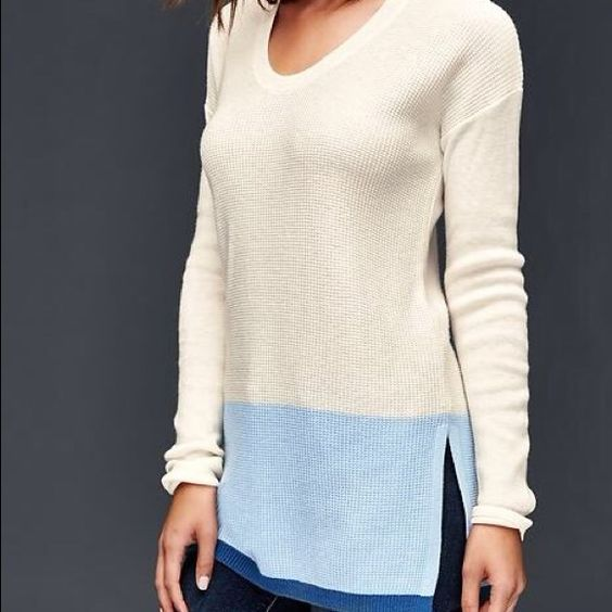 Brooklyn Colorblock pullover sweater New with tag GAP Sweaters V-Necks