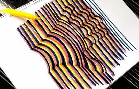 Pintura Com Efeito 3d Passo A Passo Mão Em 3d Desenhos