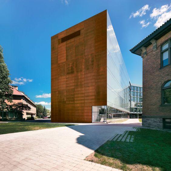 Anne-Marie Edward Science Building at John Abbott College   Saucier + Perrotte