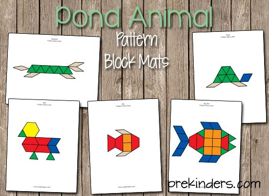 Pond life theme the shape activities and pond life for Pond shape ideas