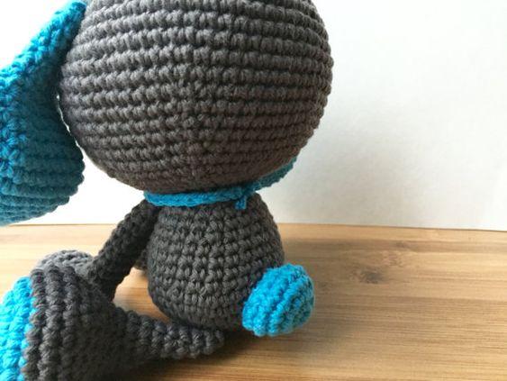 Domino The Dog Amigurumi Crochet Pattern : Domino The Dog Amigurumi Crochet Pattern. Dog by ...