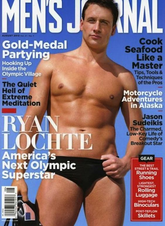 Ryan Lochte! Ryan Lochte! Ryan Lochte! :)