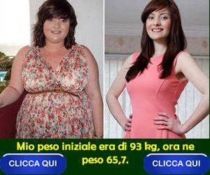 perdita di peso rachel