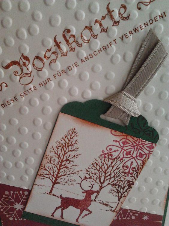 die kleine Kartenwerkstatt: Winterpost