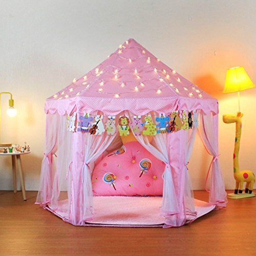 Toys For Girls Play Tent Kids Toddler 4 5 6 7 8 9 Year Old Age Girls Cool  Toy | Play tent, Kids tents, Girls play tent