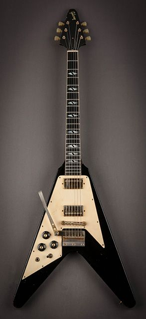 Jimi Hendrix | '69 Gibson Custom Flying V. I have one just like this one. Limited edition 1991.
