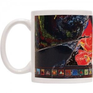 Pink Floyd DSOTM 40th Coffee Mug