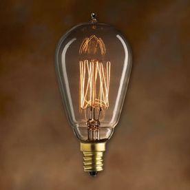 Cascadia Lighting Mininostalgic 3-Pack 25 Watt Dimmable Amber St15 Vin