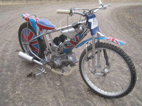 Speedway Motorcycle Racing Bikes: British Flag Speedway Bike