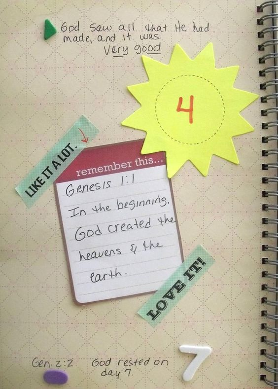Bible Fun For Kids: Bible Verse Journal