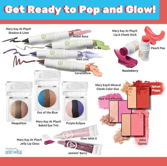 All the new stuff together!  www.MaryKay.com/RFogartyBowman