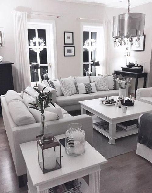 Pinterest Averyalyse17 Modern White Living Room Farm House Living Room White Furniture Living Room