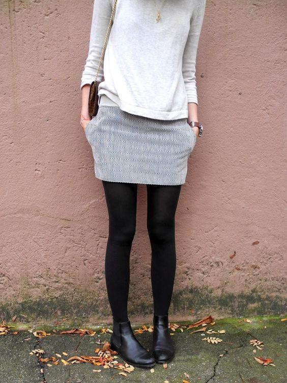 melimelo: sew a miniskirt: