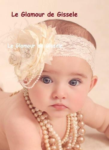Elegante Y Hermosas Bandita Y Tiaras Para Niñas Y Bebes , By Maria Elena Lopez