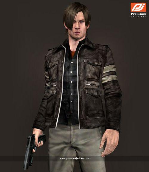 Resident Evil 6 Black Leather Jacket Jackets Leather Jacket