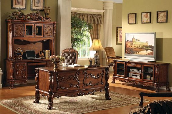 Welch's Furniture offers home and commercial office desks made of fine quality…