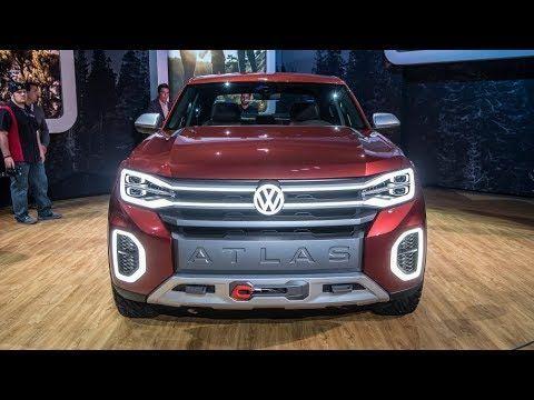 Volkswagen Atlas Tanoak Konzept Der Neue Vw Amarok 2020 Volkswagenamarok Volkswagen Vw Amarok Skoda