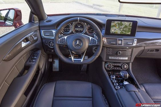 Mercedes CLS 63 AMG interior - http://richieast.com/