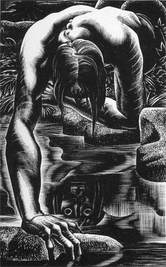 Mary Shelley. Frankenstein - 1934 - Lynd Ward: