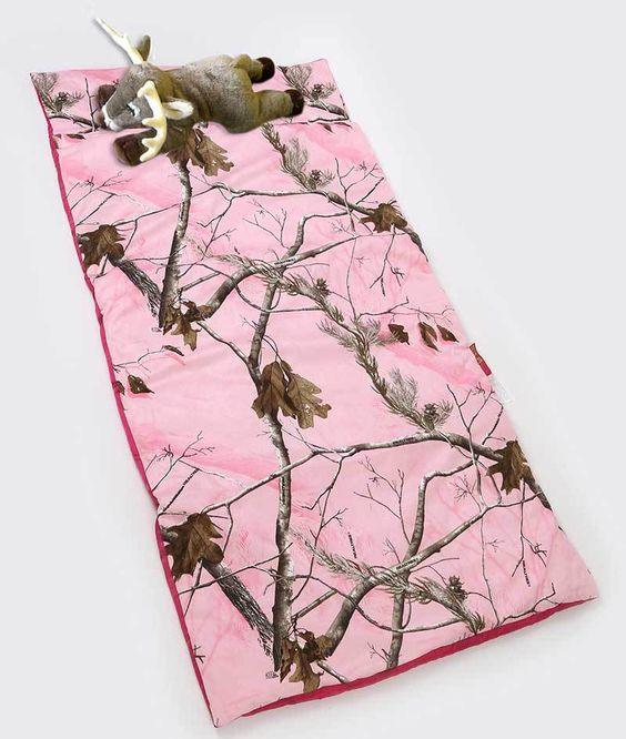 Pink Camo Girls Sleeping Bags - Young Girls Sleeping Bags | Bedding > Cribs & Kids