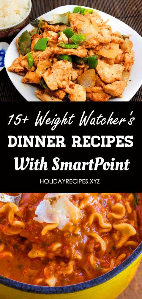 15 Weight Watchers Dinner Recipes With Smart Points That Easy