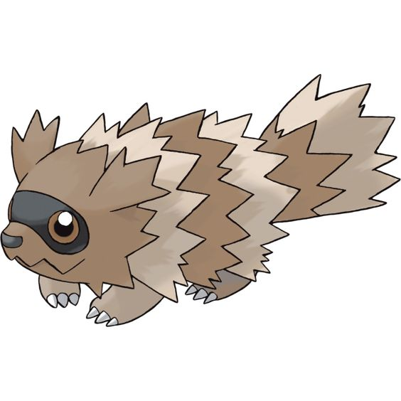 #Zigzagoon from the official artwork set for #Pokemon Ruby & Sapphire on the #GameBoyAdvance. http://www.pokemondungeon.com/pokemon-ruby-and-sapphire-versions