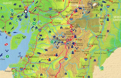 MapasBlog: Mapas de Cuenca – Equador