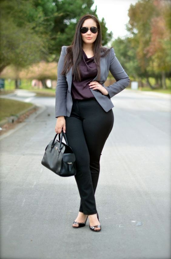 perfect-work-outfits-for-plus-size-women-16: