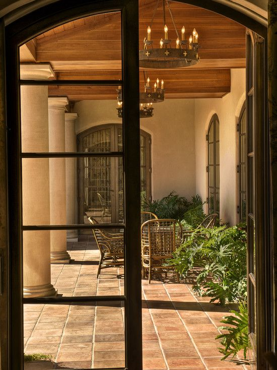 Gabriel builders authentic italian villa sitting on 200 for Mediterranean style windows