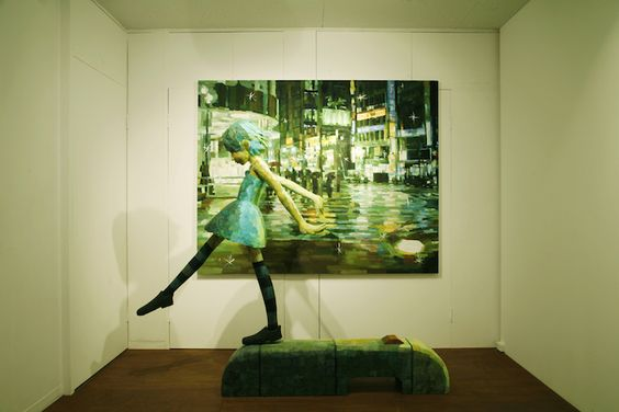 Shintaro Ohata just finished up a solo exhibition at the Yukari Art Contemprary in Tokyo