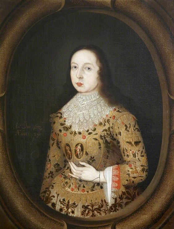 Amy Seymour (1597–1639), Mrs Edward Parker