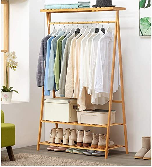 Clothes Rack Stand In 2020 Shelf Clothing Rack Garment Racks Clothes Shelves