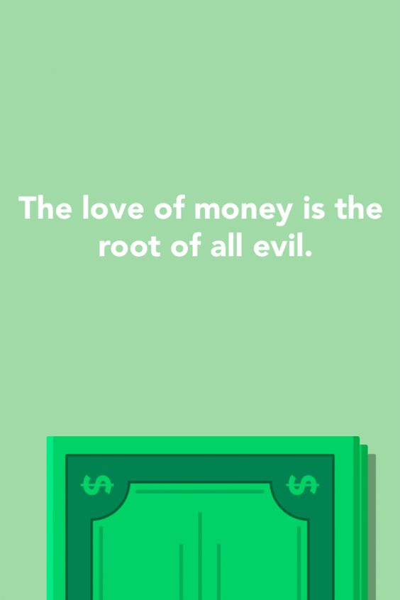 Does affluence breed all kinds of evil?
