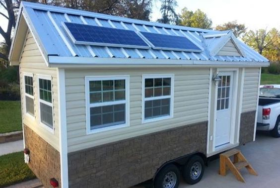 tiny house movement tiny house and solar panels on pinterest. Black Bedroom Furniture Sets. Home Design Ideas