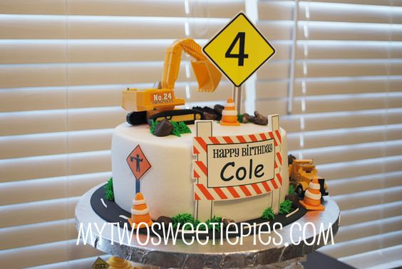 Construction cakes, Construction and Cakes on Pinterest