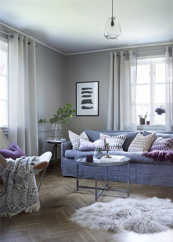 Kansas gardin 135x230 grå -Princessbutikken | Hytte | Pinterest