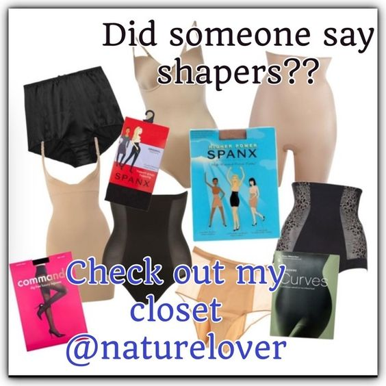 Lots of shapers in my closet Check me out @naturelover SPANX Accessories