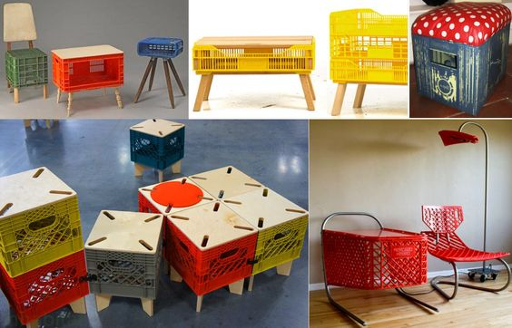 Articulo de www.centrolandia.com/blog/ Si creías que lo habías visto todo en las ideas de reciclar objetos convirtiéndolos en muebles, estamos seguros que vamos a...:
