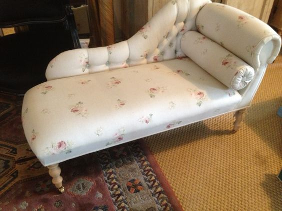 Chaise made to order in any fabric