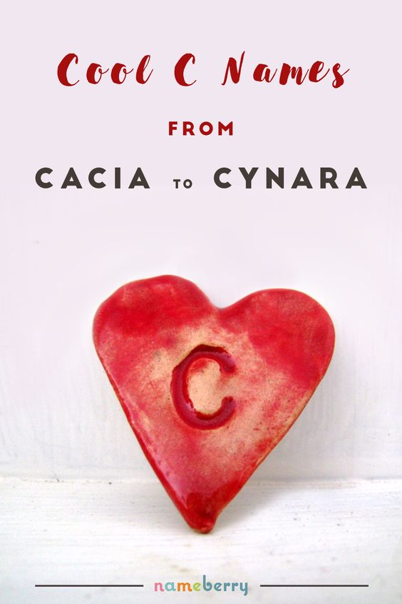 Looking for cool baby names starting with the letter C? From Cacia to Cynara, Cabot to Cypress, these are wearable, rare baby names that no one is using - yet!