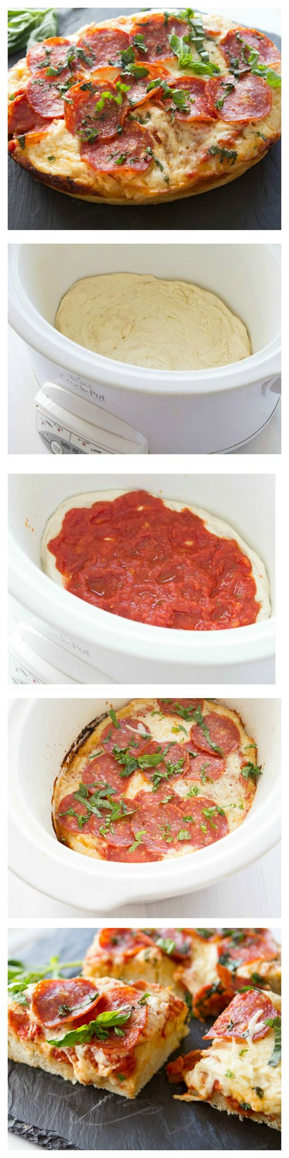 Try This Delicious Crock-Pot Pepperoni Pizza