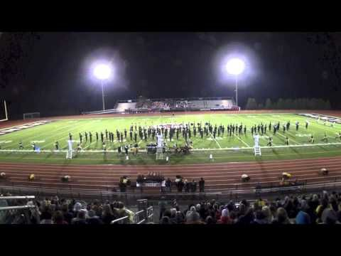 Pennridge High School Marching Rams at William Tennent Competition 10/19/13