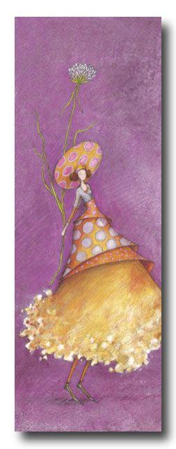 BOISSONNARD Le grand chapeau à pois