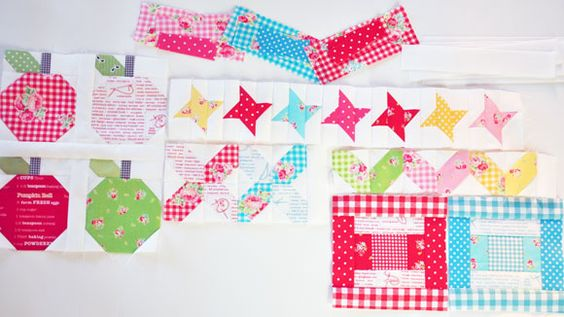 Quilty Fun Sewing Progress