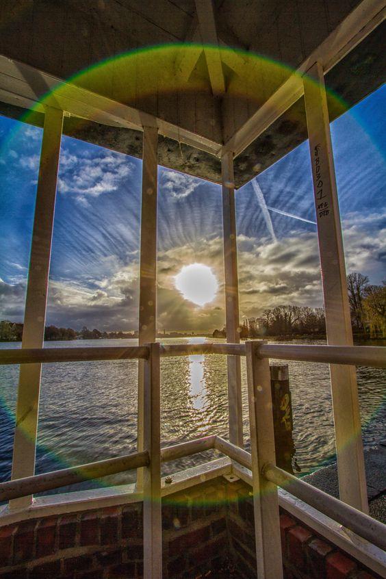 Anleger Krugkoppelbrücke an der Außenalster | Bildschönes Hamburg